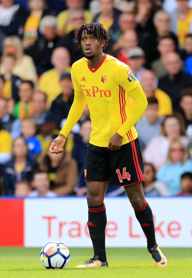 Nathaniel Chalobah moved from Chelsea to Watford in the summer to further his career