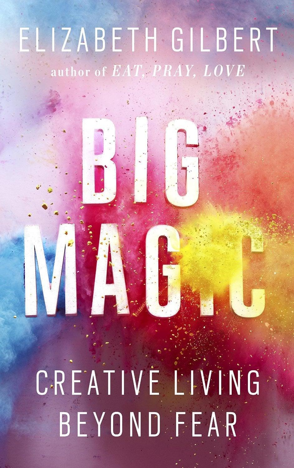 """<p>How do you tap into creativity and let go of all your fears? <a href=""""http://www.popsugar.com/smart-living/Quotes-From-Elizabeth-Gilbert-Big-Magic-37660037"""" class=""""link rapid-noclick-resp"""" rel=""""nofollow noopener"""" target=""""_blank"""" data-ylk=""""slk:Elizabeth Gilbert"""">Elizabeth Gilbert</a> answers this so wisely in <span>Big Magic</span> - each page will inspire and motivate you to be your best creative self and allow the magic to happen. </p>"""