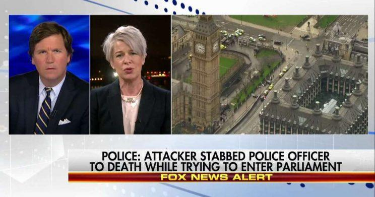 Katie Hopkins claimed London was paralysed with fear in the wake of Wednesday's terror attack (Copyright: Twitter/FoxNews)