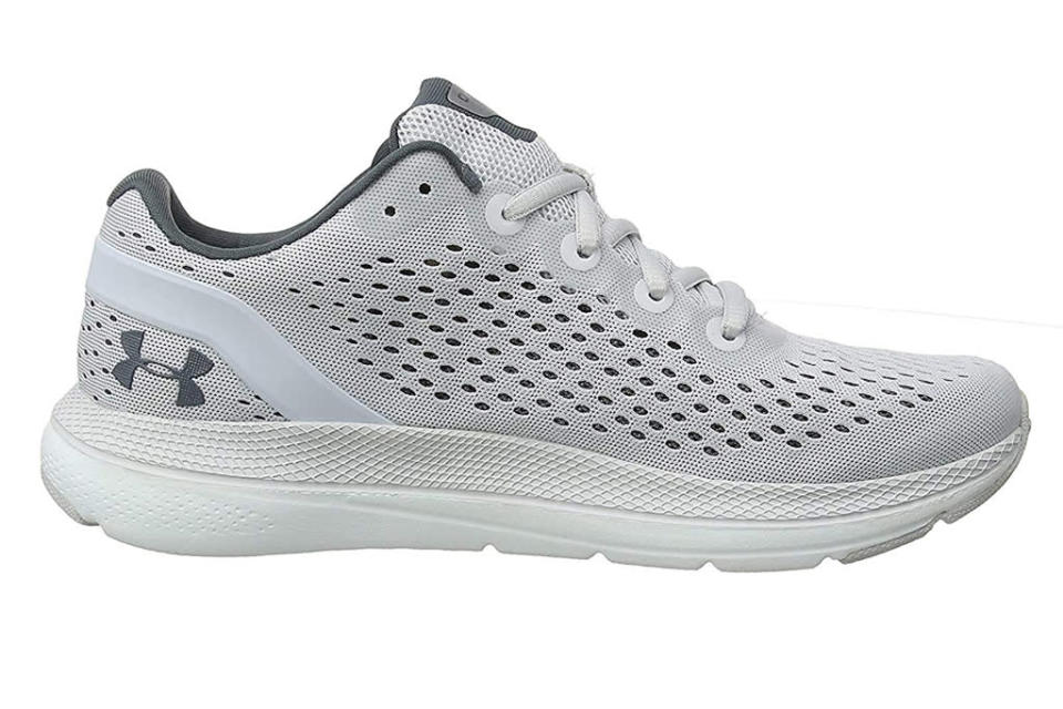 under armour, sneakers, gray