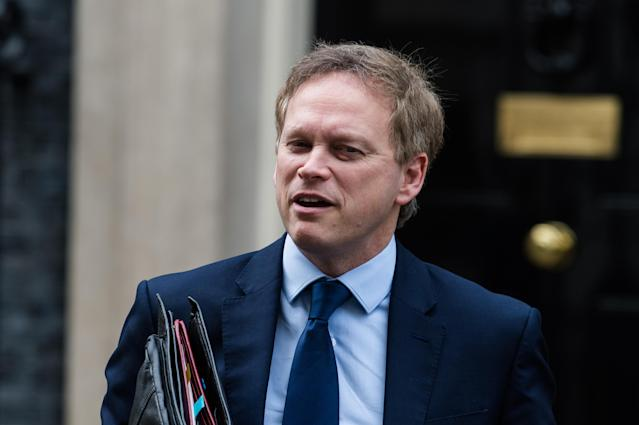 Transport secretary Grant Shapps has announced new coronavirus guidance for commuters. (Getty Images)