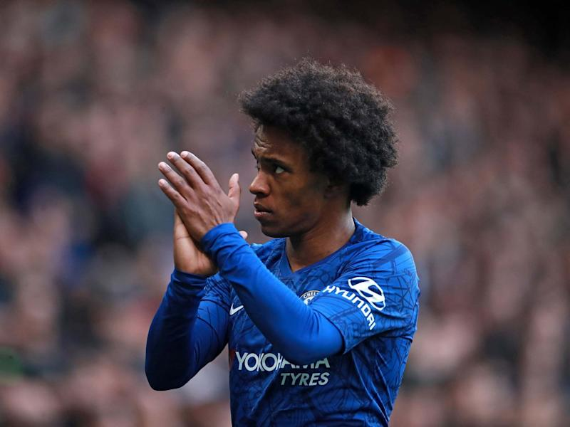 Willian is set to join Arsenal on a three-year deal after leaving Chelsea: PA