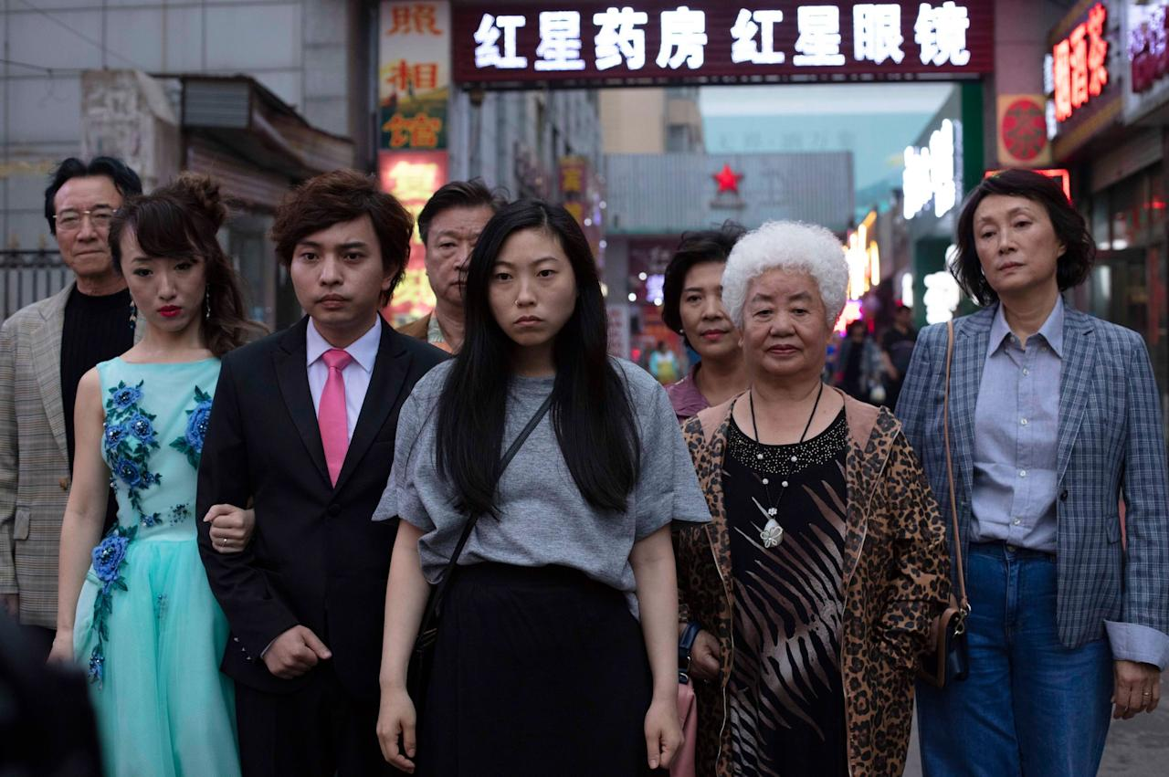 """<p>""""There's something so inherently beautiful about the story of <strong>The Farewell</strong>, even though it's based on a lie. Yes, Billi (Akwafina) and her family <a href=""""https://www.popsugar.com/entertainment/What-Farewell-Movie-Starring-Awkwafina-About-46134889"""" class=""""ga-track"""" data-ga-category=""""Related"""" data-ga-label=""""https://www.popsugar.com/entertainment/What-Farewell-Movie-Starring-Awkwafina-About-46134889"""" data-ga-action=""""In-Line Links"""">are deceiving Nai Nai (Shuzhen Zhao)</a>, but the love they all have for her is so evident that I find it hard to question their decision. The scene in the ballroom, where Billi's uncle (Jiang Yongbo as Haibin) begins to break down while thanking his mother, still slaps! Maybe I'm biased because, as a child of immigrants, I understand being in between cultures and feeling so distant from your native home and family. Billi's character resonated with me on a visceral level, and Akwafina's performance was truly a revelation. All the performances create such a poignant, realistic portrait of a family, especially the complicated parts of a family that make it hard to stay together.""""<br> </p> <p align=""""right""""><em>- Mekishana Pierre, assistant editor, Entertainment</em></p>"""
