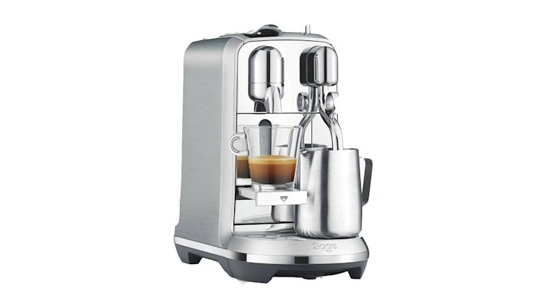 Nespresso Creatista Plus Coffee Machine by Sage, Stainless Steel