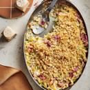 "<p>Hot Hungarian paprika gives this casserole subtle heat but you could use sweet instead. Adding sauerkraut to the mix adds bites of salty tangy flavor throughout. Try leftovers layered with turkey, Swiss and Russian dressing on a panini for a Reuben-inspired sandwich. <a href=""https://www.eatingwell.com/recipe/7870306/creamed-cabbage-sauerkraut-with-rye-breadcrumbs/"" rel=""nofollow noopener"" target=""_blank"" data-ylk=""slk:View recipe"" class=""link rapid-noclick-resp""> View recipe </a></p>"