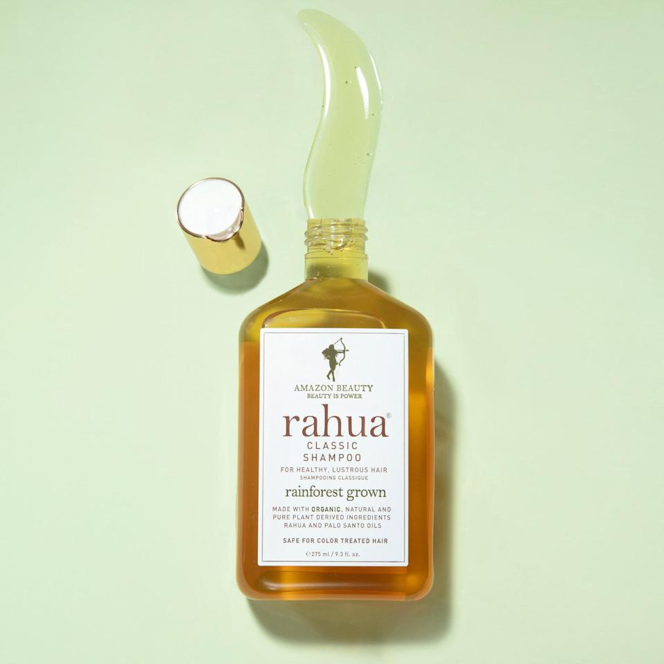 "<p>If you're just looking for a basic everyday choice that's plant-based, then you can't go wrong with this <a href=""https://www.popsugar.com/buy/Rahua-Classic-Shampoo-556626?p_name=Rahua%20Classic%20Shampoo&retailer=sephora.com&pid=556626&price=34&evar1=bella%3Aus&evar9=47301960&evar98=https%3A%2F%2Fwww.popsugar.com%2Fbeauty%2Fphoto-gallery%2F47301960%2Fimage%2F47305496%2FRahua-Classic-Shampoo&list1=shopping%2Cbeauty%20products%2Chair%20care%20products%2Cshampoo%2Ceditors%20pick%2Cbeauty%20shopping%2Cbeauty%20products%20review%2Cclean%20beauty%2Crahua&prop13=api&pdata=1"" rel=""nofollow"" data-shoppable-link=""1"" target=""_blank"" class=""ga-track"" data-ga-category=""Related"" data-ga-label=""https://www.sephora.com/product/shampoo-P407486?icid2=products%20grid:p407486"" data-ga-action=""In-Line Links"">Rahua Classic Shampoo</a> ($34).</p>"
