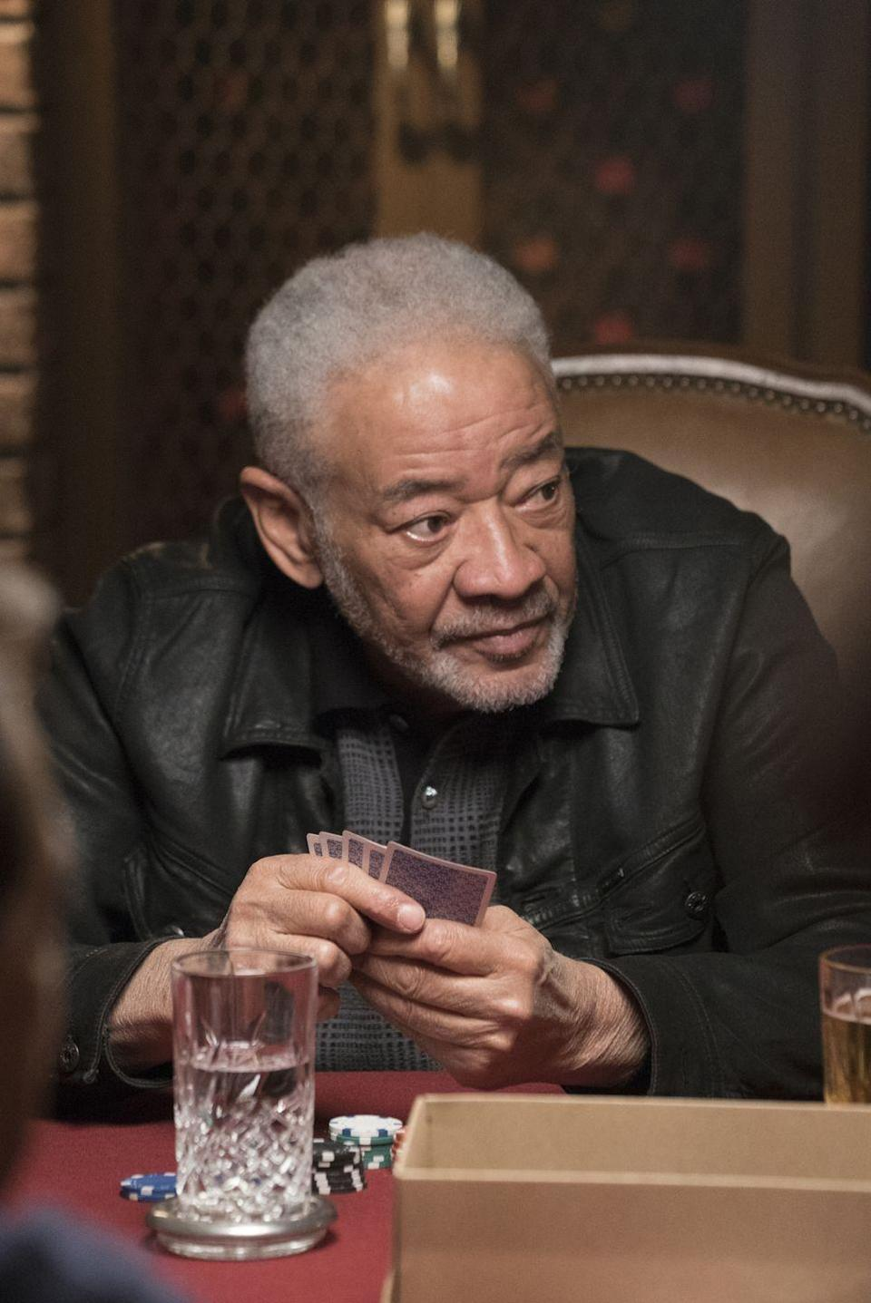 <p>Oh, to be part of this poker game. While seemingly out of nowhere, the final scene of season 11, episode 17, featured Rossi and Morgan playing a couple rounds with legendary singer Bill Withers. </p>