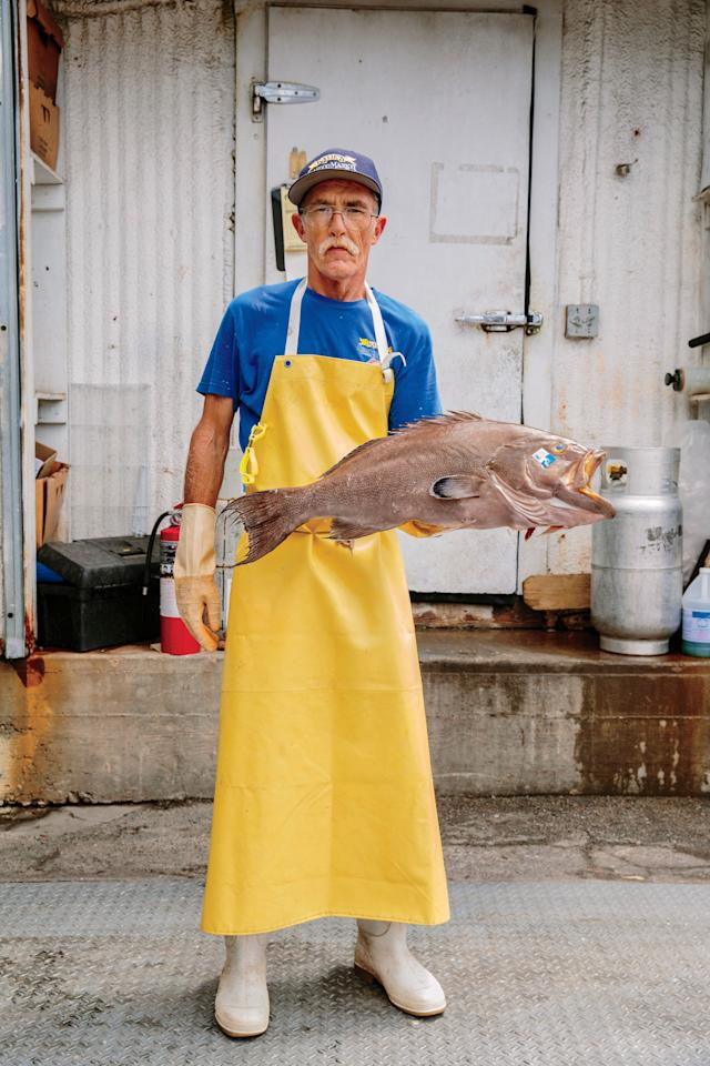 """<p>The fishermen unload glistening red snapper onto a dock where <a rel=""""nofollow"""" href=""""https://www.katiesseafoodmarket.com/"""">Katie's Seafood Market</a> owners Kenny Guindon and his brother Buddy supervise a crew of fishmongers. A forklift stays in constant motion, carrying pallets of fish-laden bins onto waiting refrigerated trucks. Some 4,000 pounds of red snapper are being loaded right before my eyes. There was a time when such a catch was unimaginable. Gulf red snapper were almost fished into extinction back in the middle of the last century-but the fish population has bounced back. The Guindon family and fellow fishermen founded <a rel=""""nofollow"""" href=""""http://www.gulfwild.com/"""">Gulf Wild</a>, a nonprofit conservation organization for U.S. fishermen working the Gulf. Their catch is branded with white plastic Gulf Wild tags. The number on the tag tells consumers which boat and which fishermen caught the fish and confirms that customers are supporting a sustainable fishery.</p>"""