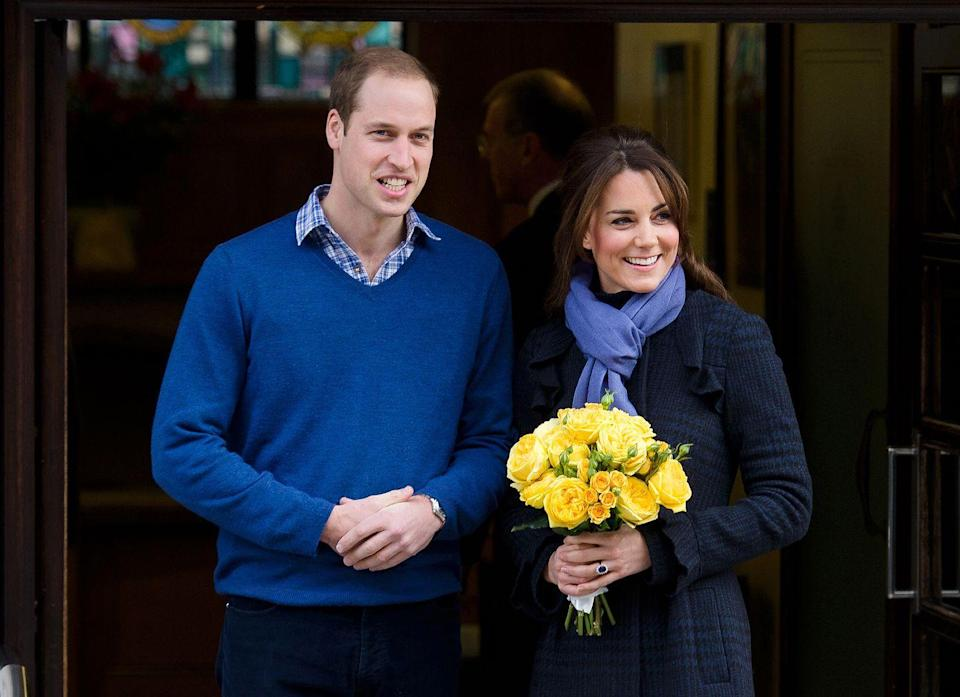<p>After a bout of morning sickness, Kate and William joyfully announced that they were expecting their first child in July.</p>