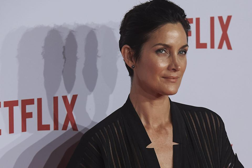 """Matrix"" star Carrie-Anne Moss has some issues with Hollywood casting."