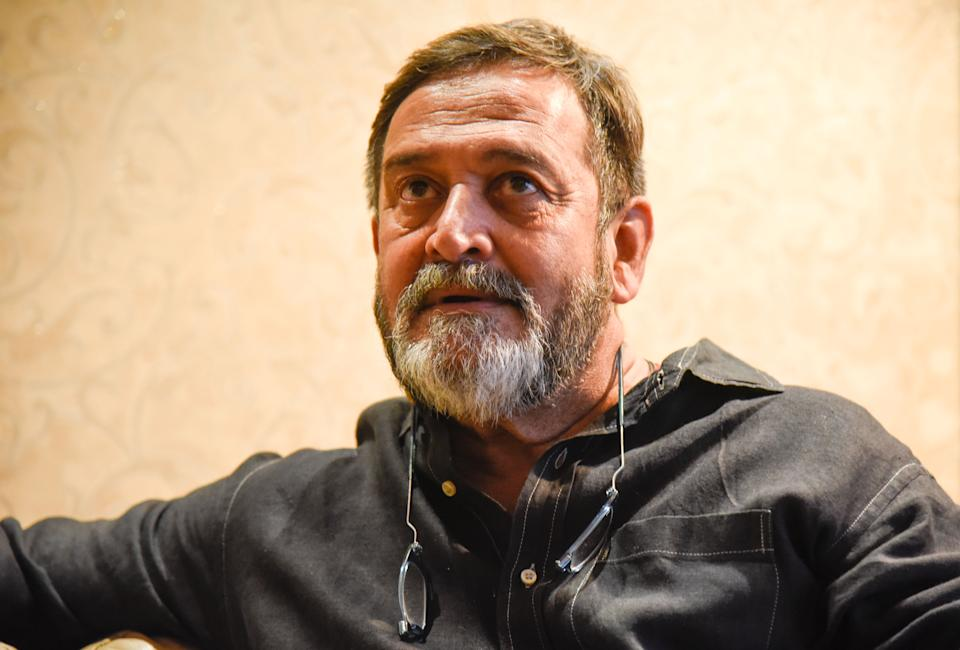 PUNE, INDIA - DECEMBER 19: Bollywood actor and director Mahesh Manjrekar during an interview with HT, on December 19, 2018, in Pune India. (Photo by Sanket Wankhad/Hindustan Times via Getty Images)