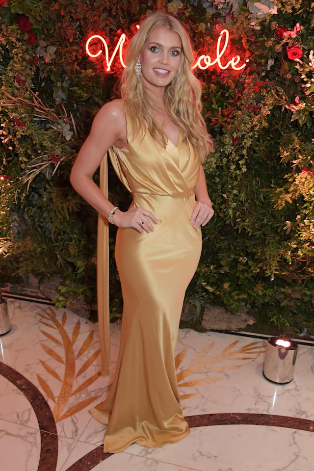 Kitty Spencer Engaged To Michael Lewis 31 Years Her Senior