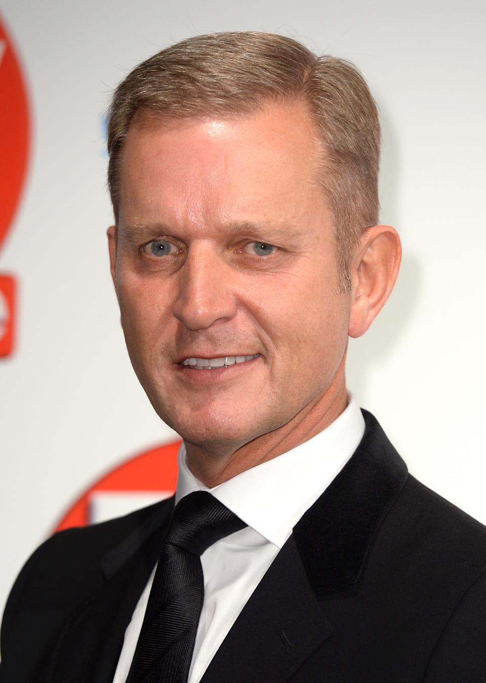 Jeremy Kyle arriving at the 2015 TV Choice Awards, The Park Lane Hilton, London.