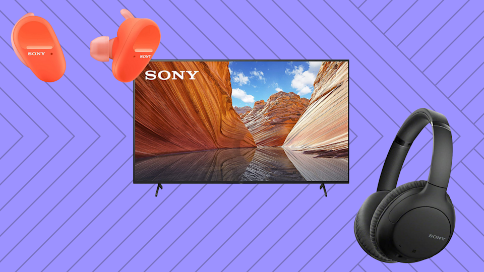 It's Prime Day! Here are the best deals on Sony TVs and headphones! (Photo: Amazon)