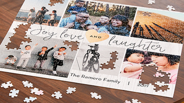 Best photo gifts of 2020: Custom Photo Puzzle