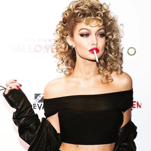 """<p>Another great costume idea if you'll be spending as much time indoors as you will outside, Sandy's final look in Grease features a leather jacket, black of-the-shoulder top, and black lycra pants to keep you both warm and cool when you need.</p><p><a href=""""https://www.instagram.com/p/BMHmnlDhP8e/"""" rel=""""nofollow noopener"""" target=""""_blank"""" data-ylk=""""slk:See the original post on Instagram"""" class=""""link rapid-noclick-resp"""">See the original post on Instagram</a></p>"""