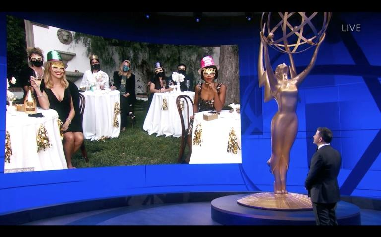 Emmys hit new ratings low despite praise for 'remote' ceremony