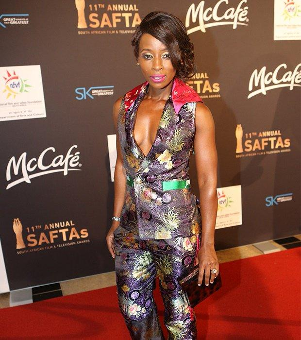South African actress Hlubi Mboya Arnold.