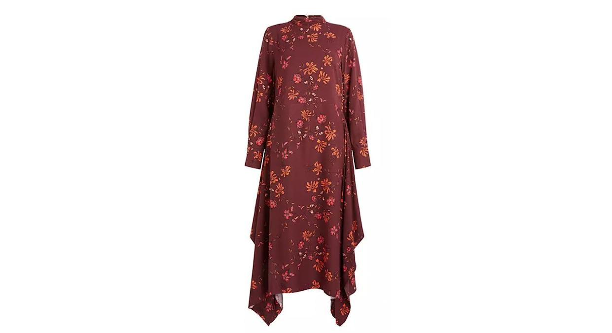 Mother of Pearl ECOVERO™ Floral High Neck Dress