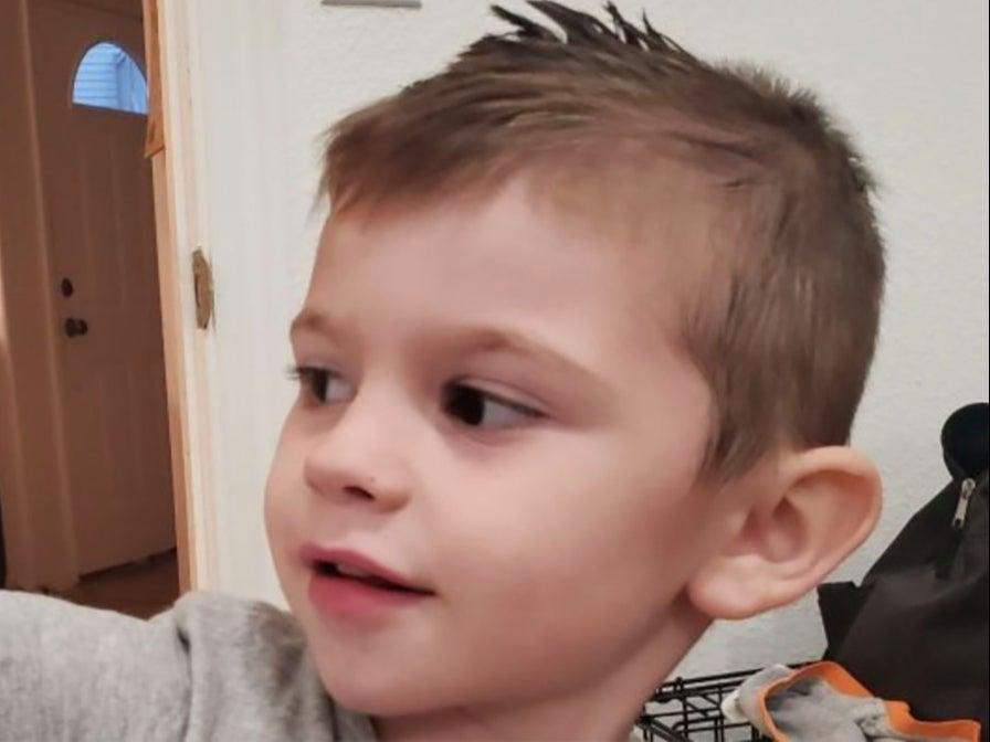 Kache Wallis, 4, was found dead in his Utah home after he asphyxiated in his toy box.  (GoFundMe )