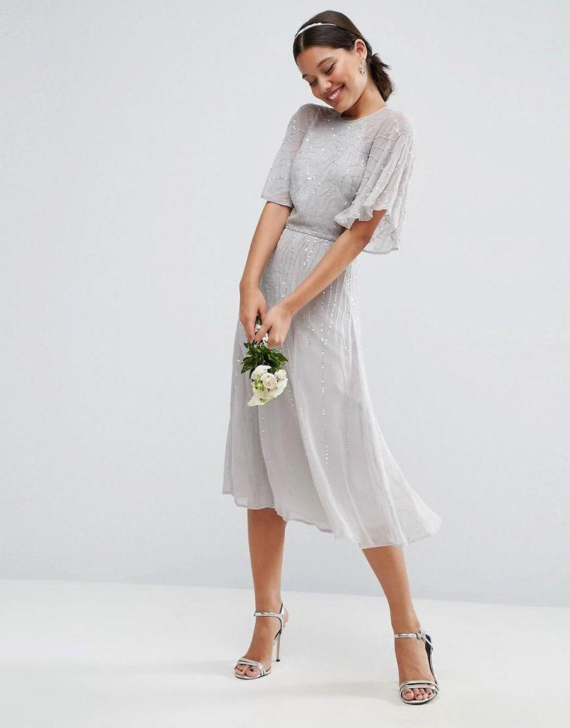 The very best places to shop for bridesmaid dresses a short bridesmaid dress with sleeves ombrellifo Gallery