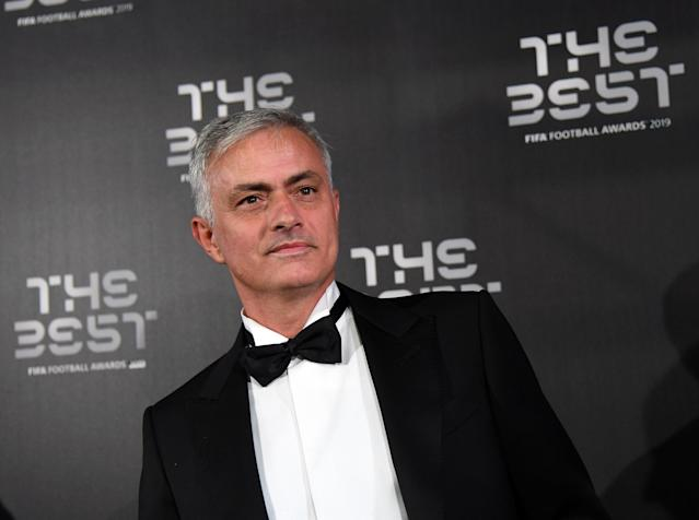 Jose Mourinho's name is being bandied about for both Bayern Munich and Arsenal. (Getty Images)