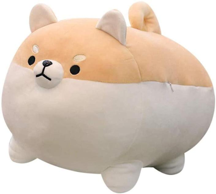 Auspicious shiba inu dog plush toy, gifts for her