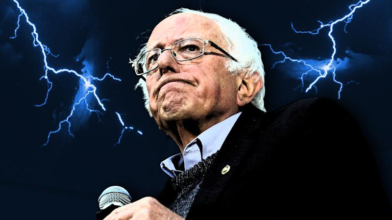 Sen. Bernie Sanders. (Photo illustration: Yahoo News; photos: AP, Getty Images)