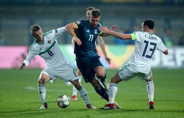 Bosnia and Herzegovina v Northern Ireland – UEFA Nations League – League B – Group 3 – Grbavica Stadium