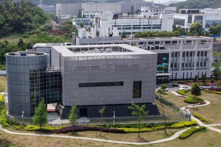 An aerial view shows the P4 laboratory at the Wuhan Institute of Virology in the Chinese city of Wuhan -- US President Donald Trump said he had seen evidence pointing to the lab as the source of the novel coronavirus