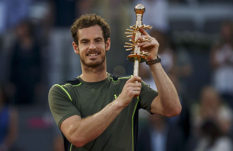 Murray to return at 'Battle of the Brits' tourney in June