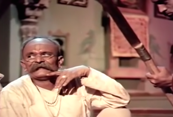 In his iconic role as the village loan shark, Kanhaiyalal laid the template for many Bollywood baddies to come. Whether it was trapping gullible villagers in debt or exploiting helpless women, Sukhilala's scheming knew no end.