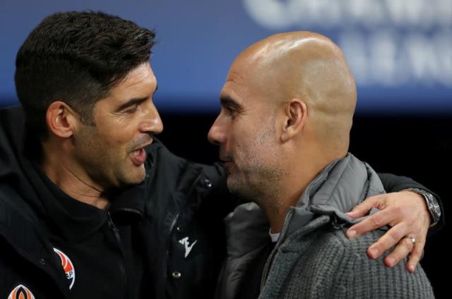 FILE PHOTO: Champions League - Group Stage - Group F - Manchester City v Shakhtar Donetsk