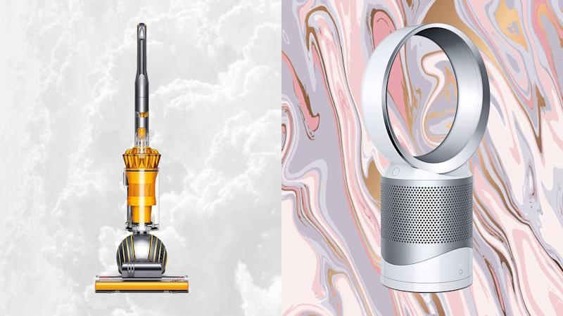 Prices start at just $150 for Dyson vacuums and air purifiers. (Photos: Zulily)
