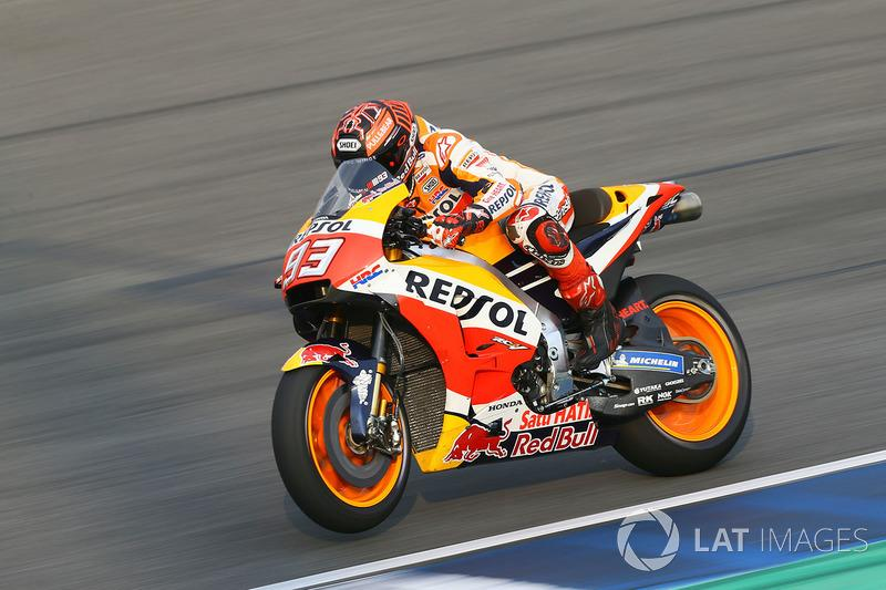 "2018. Marc Márquez<span class=""copyright"">Gold and Goose / Motorsport Images</span>"