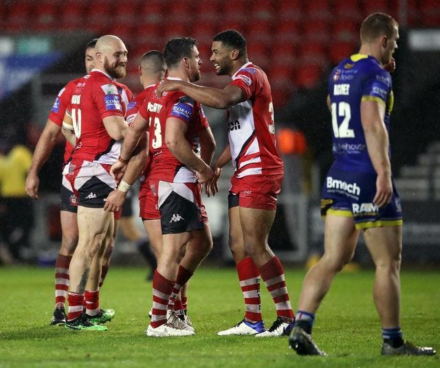 Salford Red Devils v Warrington Wolves – Coral Challenge Cup – Semi Final – Totally Wicked Stadium