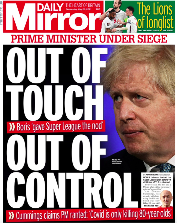 Boris Johnson and Matt Hancock reject Cummings' claims of lies and incompetence