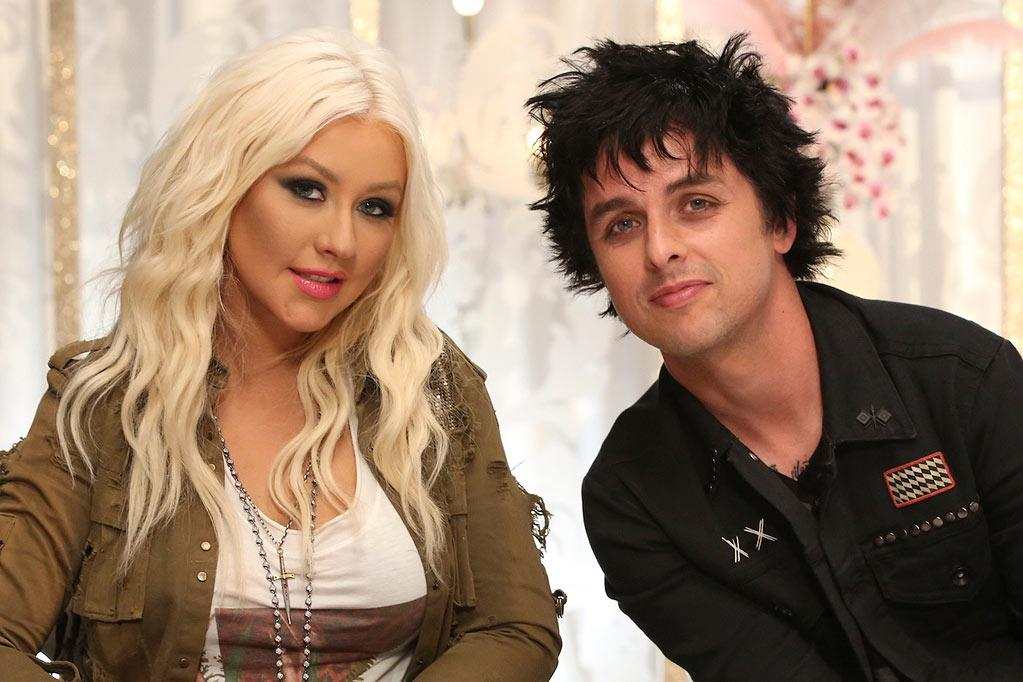 <b>Billie Joe Armstrong </b>on Team Christina, Season 3