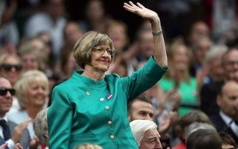 <span>The 24-time major champion Margaret Court has viciously attacked the gay community</span> <span>Credit: PA </span>