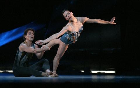 Gary Avis performing at the Royal Ballet with Darcey Bussell - Credit: Alastair Muir