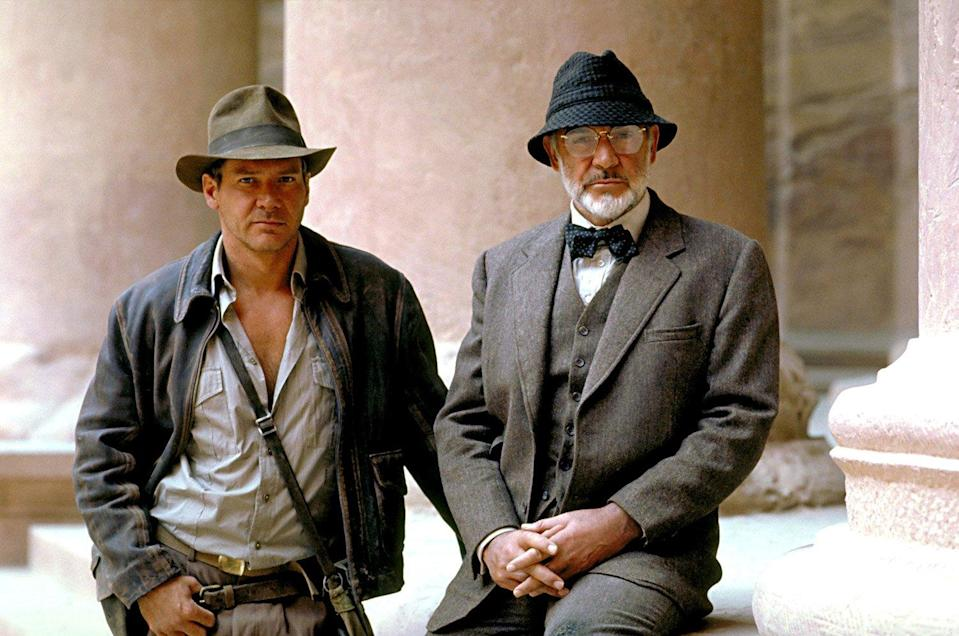 Harrison Ford Honors His Indiana Jones 'Father' Sean Connery: 'God, We Had Fun'
