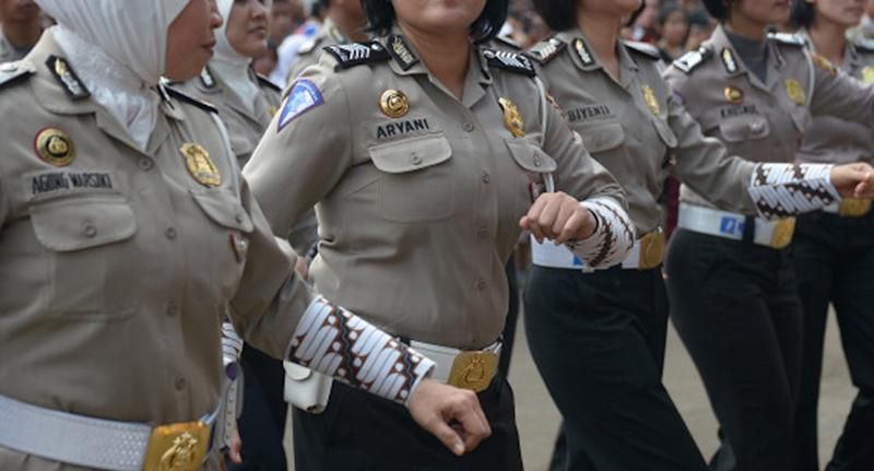 Indonesian women are forced to undergo degrading tests to join the police force