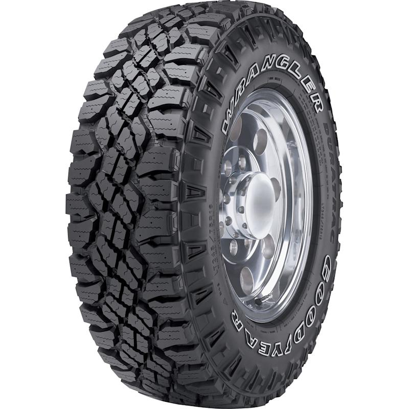 Goodyear Wrangler Duratrac Tire. Image via Canadian Tire.