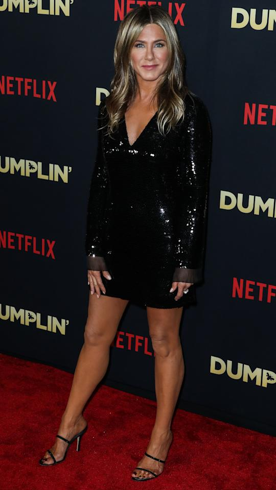 <p>Aniston's sequined black minidress is our style inspiration for the holidays. But if you don't have thousands to dish out for her Stella McCartney look, here are some affordable alternatives to help you feel like a movie star. </p>