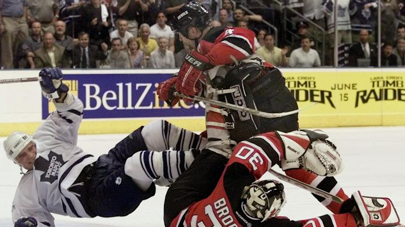 Scott Stevens and Tie Domi's feud is tangentially linked to some of the most famous moments in hockey from the 1990s and early 2000s. (Reuters)