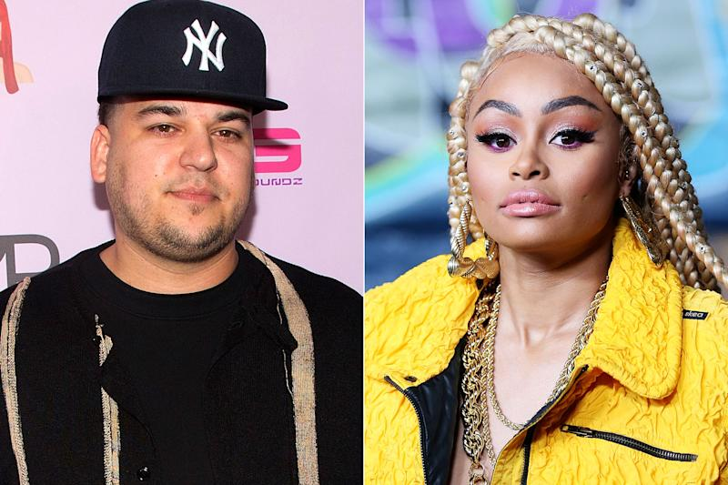 Rob Kardashian Is Mad Blac Chyna Went To Hawaii Without Dream When