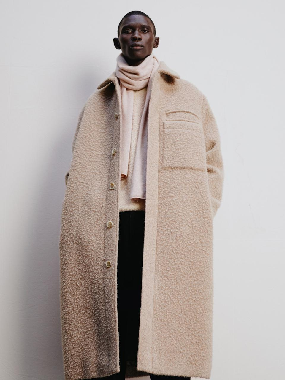 A photo of a look from COS.