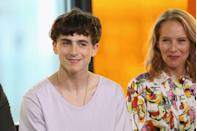 <p>When Netflix debuted its trailer for the 2019 film <em>The King</em>, it wasn't the star-packed cast or battle scenes that stirred up an online frenzy, it was Chalamet's bowl cut. The actor embraced the style his role as a young King Henry IV.</p>