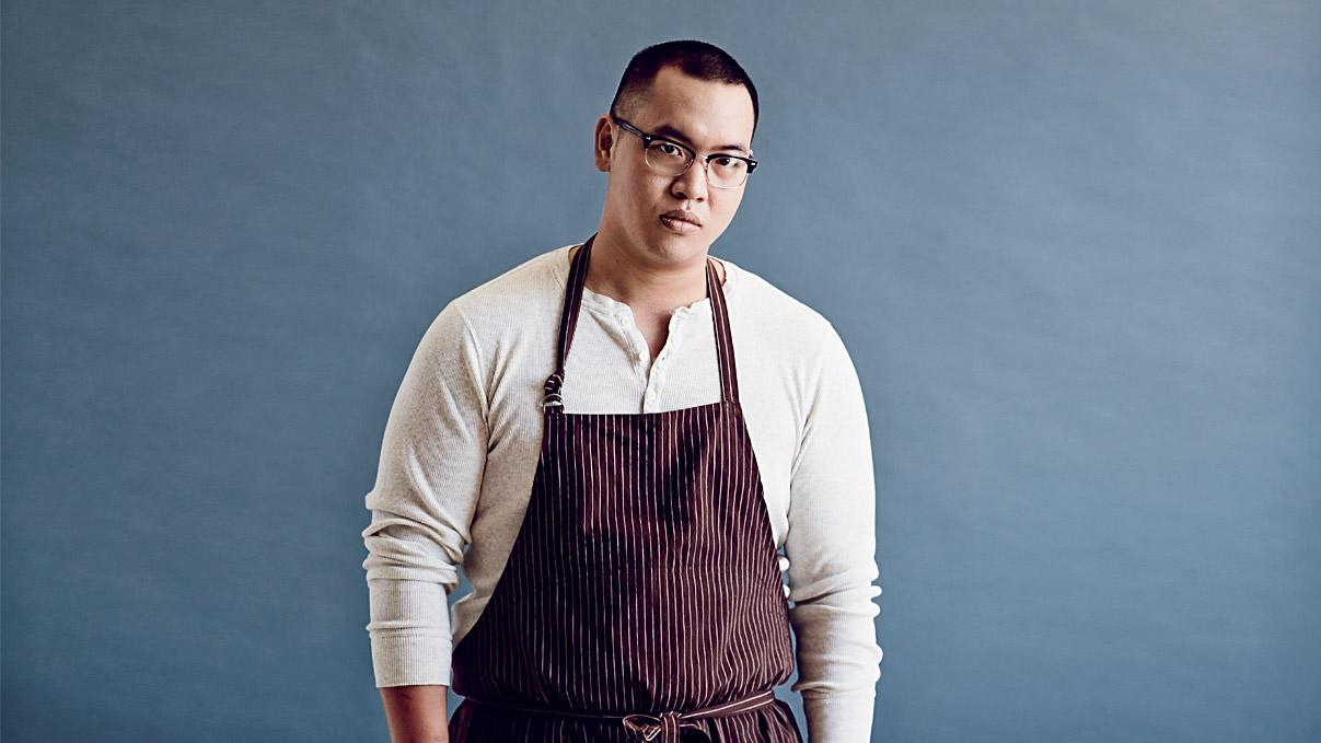 "<p>F&W's 2014 Best New Chef <a rel=""nofollow"" href=""http://www.foodandwine.com/contributors/justin-yu"">Justin Yu</a> is all about the small details when it comes to his cooking, making him a standout among his peers.</p><a rel=""nofollow"" href=""http://www.foodandwine.com/blogs/why-justin-yu-loves-chicken-feet"">Why Justin Yu Loves Chicken Feet</a><a rel=""nofollow"" href=""http://www.foodandwine.com/recipes/cold-fried-chicken"">Cold Fried Chicken</a><a rel=""nofollow"" href=""http://www.foodandwine.com/recipes/preserved-lemon-pudding-basil-syrup"">Preserved-Lemon Pudding with Basil Syrup</a>"