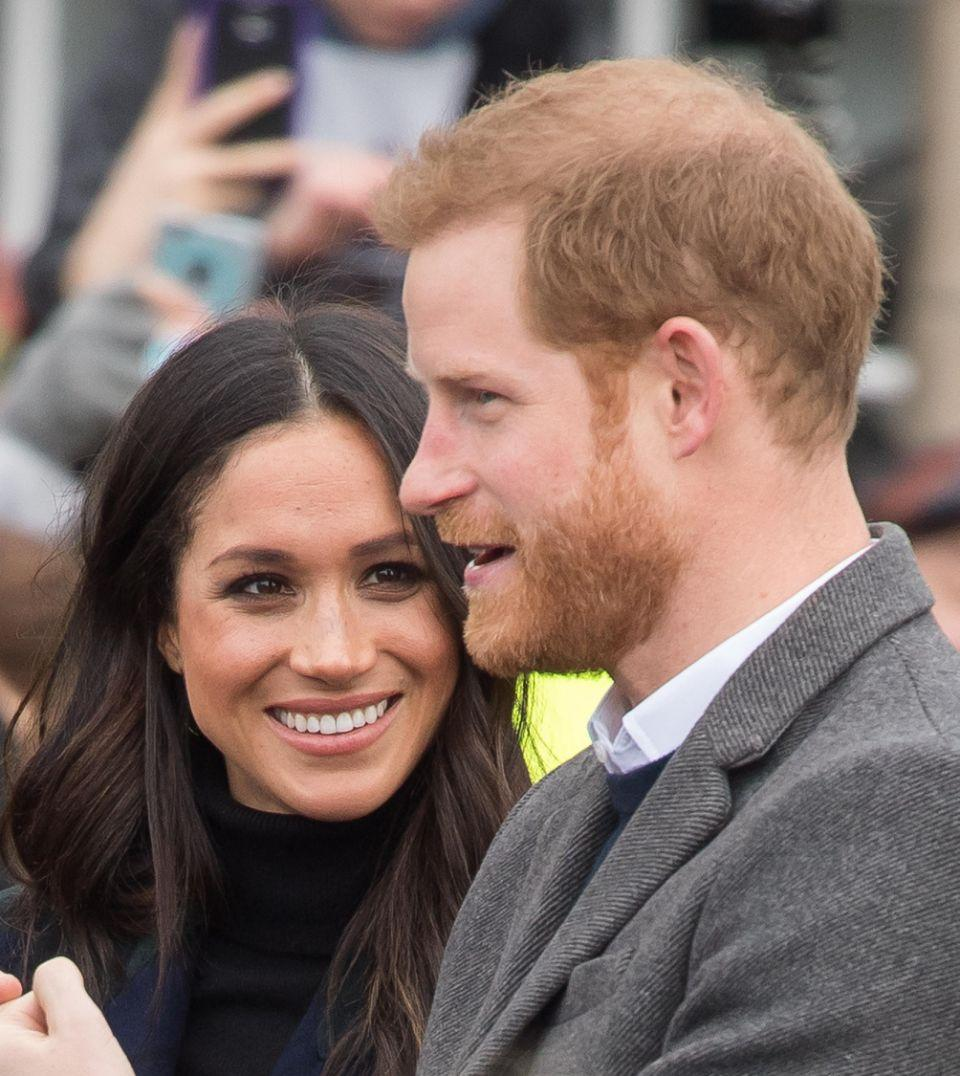 Has Meghan picked up more from Harry than just a ring? Photo: Getty
